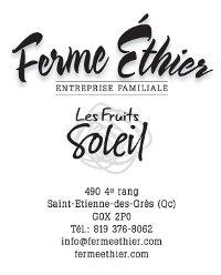 Logo Ferme Éthier - Les fruits soleil