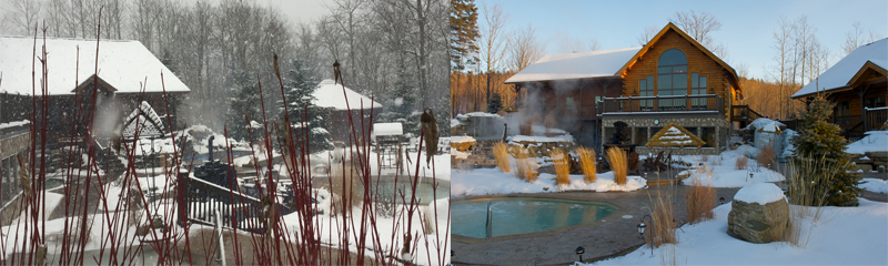 Winter in Quebec 2018 TERMINÉ - Winter in Quebec's contest in collaboration with Chalet Natur'Eau in Lanaudiere Region and Global Reservation