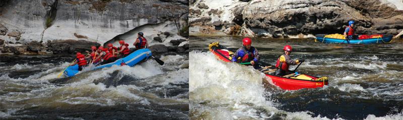 Québec en saisons Été 2018 Bonnet Rouge Rafting en Outaouais