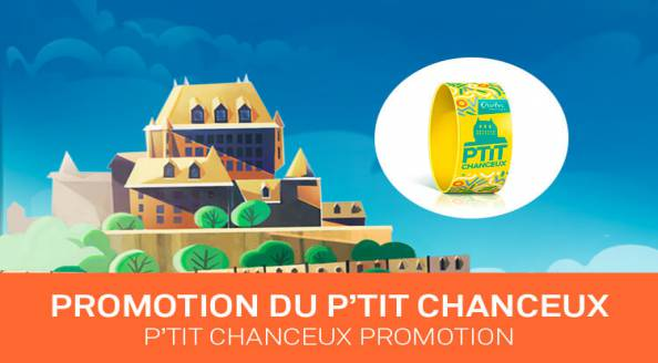 Summer in Quebec 2017  Bracelet du P'tit Chanceux Promotion