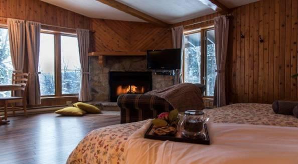 Forfait romantique hébergement Chalets Chanteclair