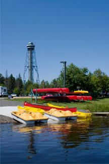 Québec en saisons Été 2017  Parc de l'Île-Melville Shawinigan