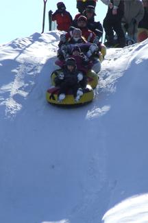 Québec en saisons Hiver 2018  Sortie de glisse au parc Saint-Jean-Bosco!