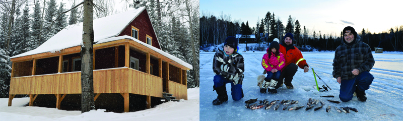 Domaine le Pic Bois in Charlevoix region, outfitters