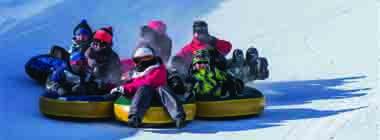 Québec en saisons Hiver 2017  Club Tobo-Ski au Saguenay-Lac-Saint-Jean