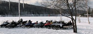 Québec en saisons Hiver 2017  Pourvoirie Windigo à La Tuque