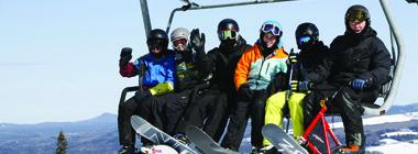 Québec en saisons Hiver 2017  Station de Ski Mont-Orignal